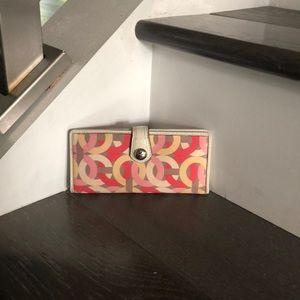 Slimline coach wallet